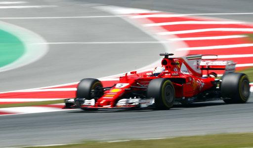 Vettel hizo todo lo posible para buscar la victoria /Foto AP