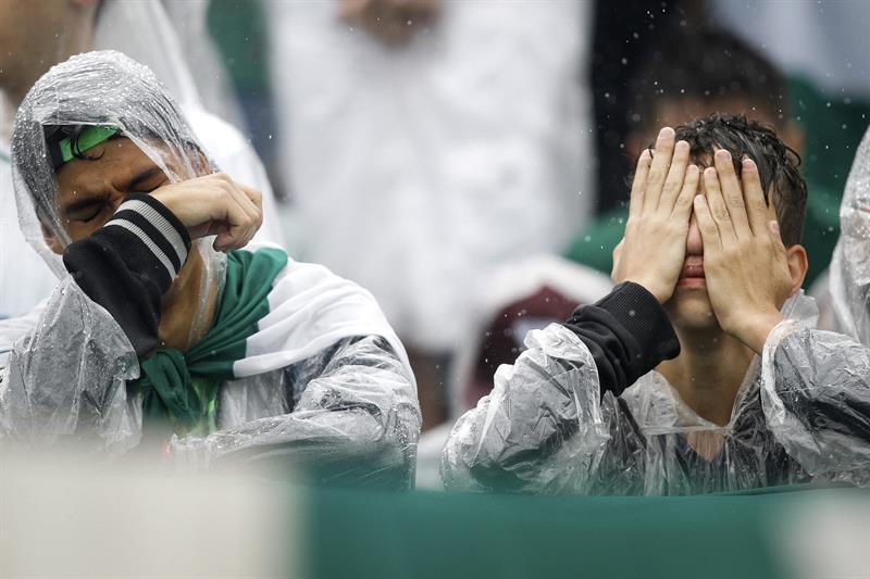 Chapecó sufre la muerte de sus jugadores | Foto: EFE