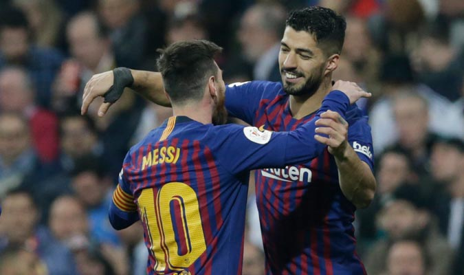 Suárez se fue con un doblete/ Foto AP