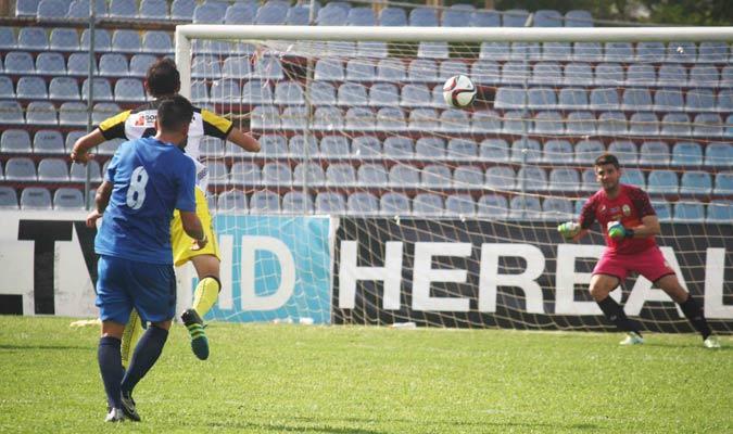 Junior Moreno marcó el gol de la victoria ante Táchira | Foto Prensa Zulia FC