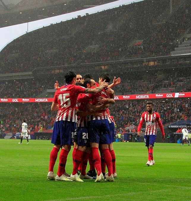 Correa tumbó el empate del Valencia para sellar la victoria del Atlético