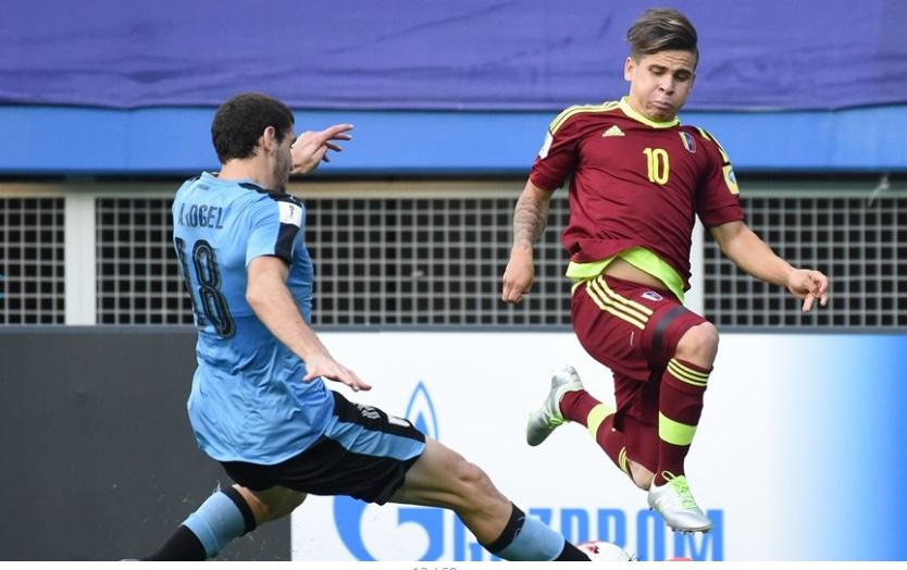 Soteldo aportó mucho en el segundo tiempo /Foto FIFA