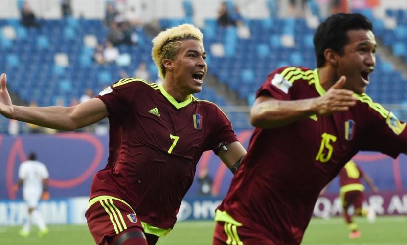 Sosa anotó un verdadero golazo /Foto FIFA