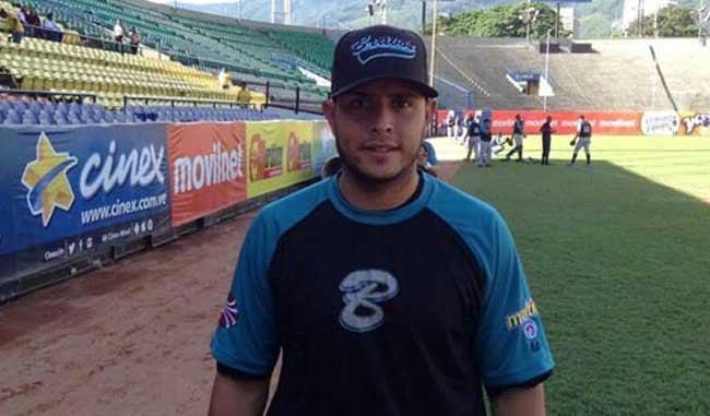 Carlos Rivero nuevo jugador de Bravos de Margarita/Foto prensa Bravos de Margarita