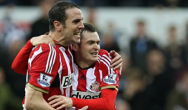 Adam Johnson salvó al Sunderland en tiempo extra