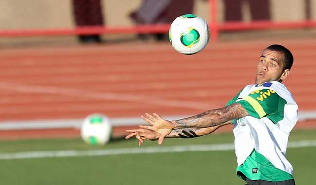 El jugador del Barcelona aseguró que Brasil puede ganar la Copa Confederaciones/EFE