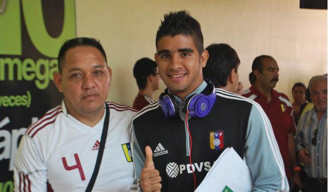Miembros de la Selección Sub 17 de Venezuela,llegaron a la ciudad de Barquisimeto/ Prensa del depor