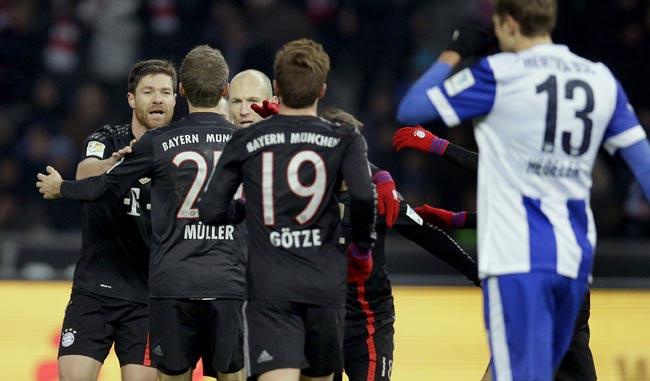 Bayern suma ya 33, diez más provisionalmente que el segundo/