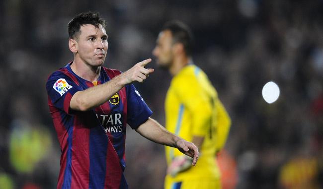 Messi detrás del record