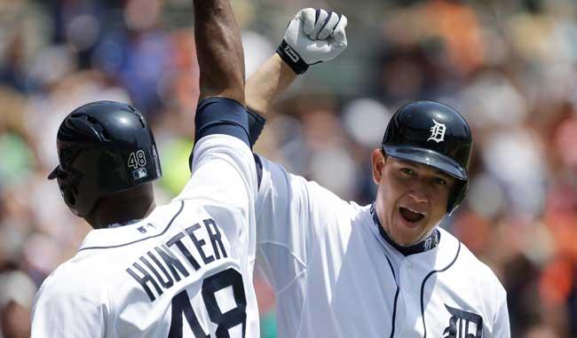 Miguel Cabrera es el corazón ofensivo de los tigres / Foto AP