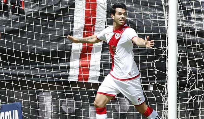 Miku marca su primer gol para el Rayo