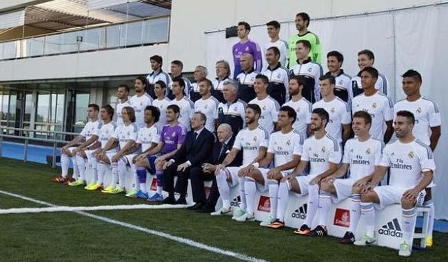 Plantilla del Real Madrid / Foto referencia
