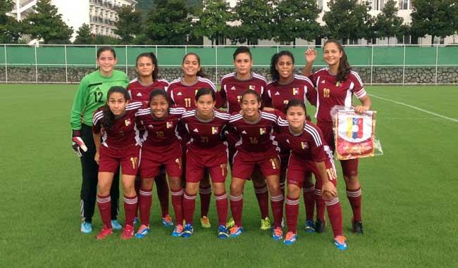 Vinotinto femenino llega a la final de fútbol en Nanjing