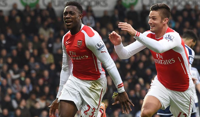 Arsenal se impuso en su visita al West Brom/