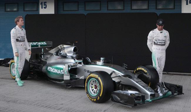 Mercedes presenta su nuevo monoplaza W06