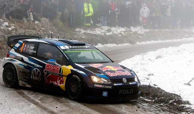 Ogier gana el Rally de Montecarlo y Volkswagen copa el podio