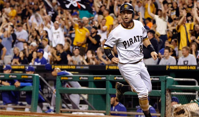Francisco Cervelli careta indiscutible de los Piratas /Foto AP