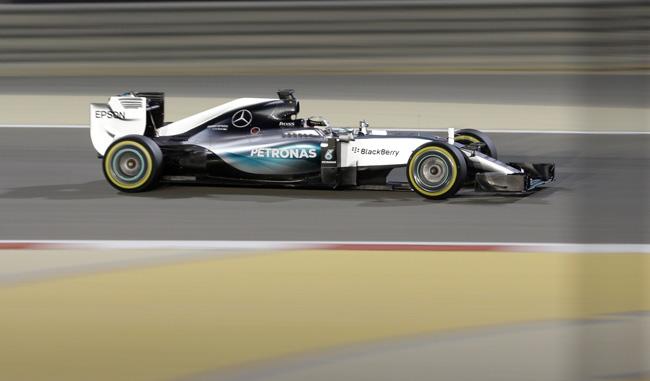 Hamilton se queda con la pole de Baheréin
