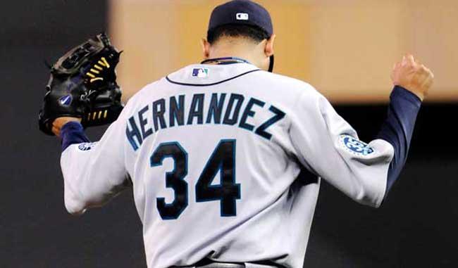 Félix Hernández intraficable ante Toronto